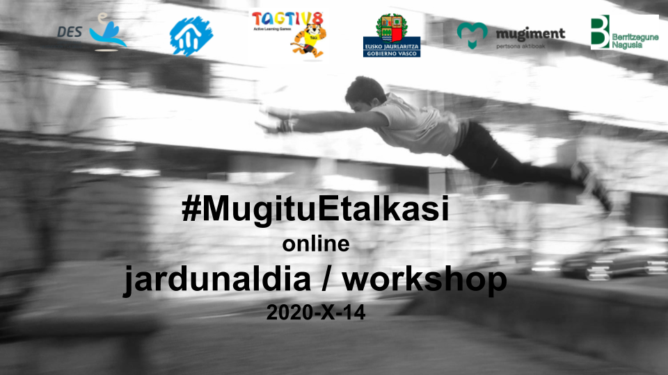 Image - If you couldn't participate in the #MugituEtaIkasi workshop
